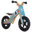"Rebel Kidz Wood Air - Draisienne Enfant - 12"" Le Mans orange/turquoise"